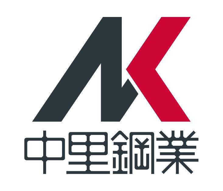 同、企業ロゴと社名ロゴタイプの一体デザイン